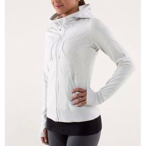 Lululemon Zip Up Hoodie Jacket Voyage Size 6 Small
